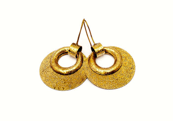 Double Disc Earring