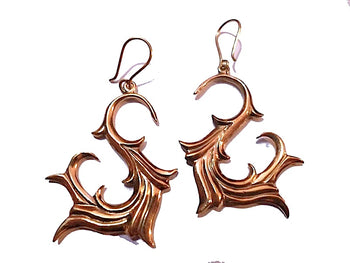 Tribal Fire Earrings
