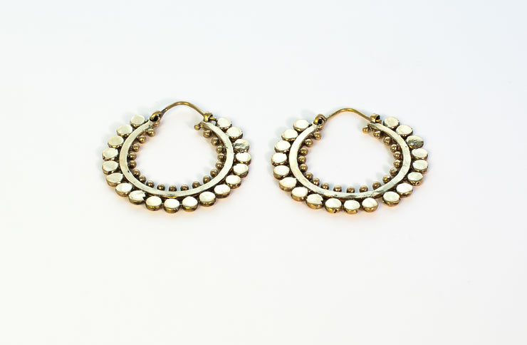 Small Alchemy Hoops