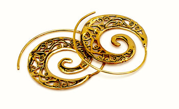 Ornate Brass Spirals