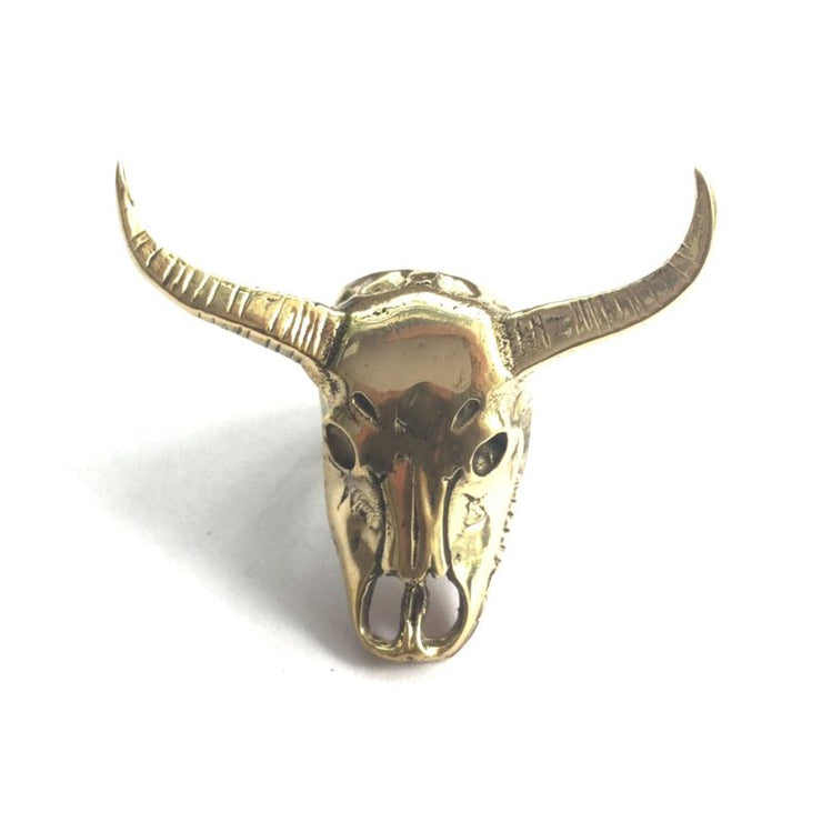 Buffalo Skull Ring Foragedesign Jewelry / Rings