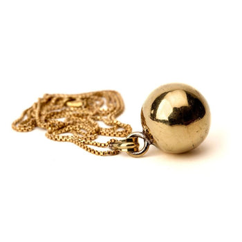 Chime Orb Pendant Foragedesign Jewelry / Necklaces Pendants