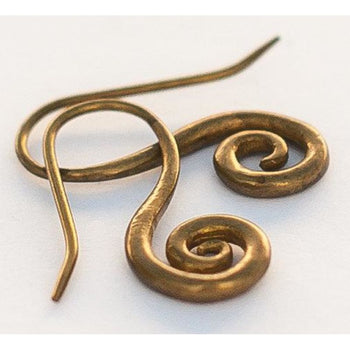 Drop Spirals Foragedesign Jewelry / Earrings