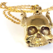 Flying Skull Pendant Foragedesign Jewelry / Necklaces Pendants
