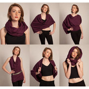 Hoop Scarves - Plain - 8 colours