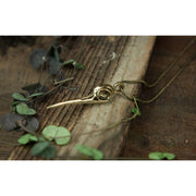Hummingbird Pendant Foragedesign Jewelry / Necklaces Pendants