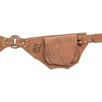 Leather Rivet Pocketbelt
