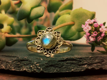 Silver Flora Ring