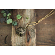 Ornate Chime Orb Pendant Foragedesign Jewelry / Necklaces