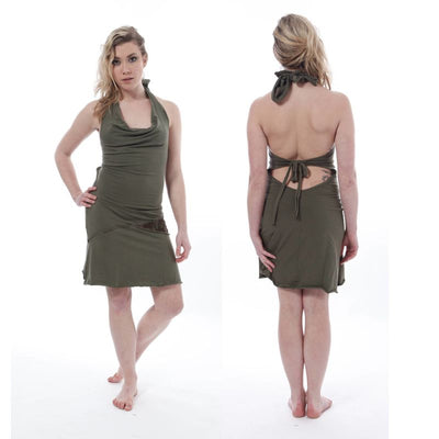 Short Tie Dress Foragedesign Clothing / Women's Dresses