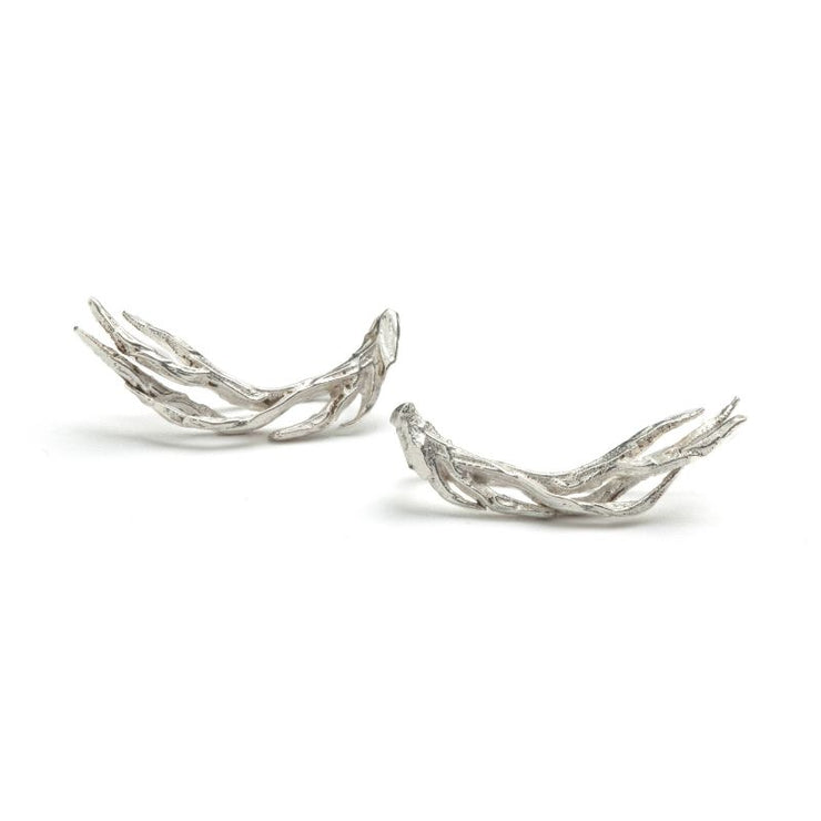 Silver Antler Climbing Studs Foragedesign Jewelry / Necklaces Pendants