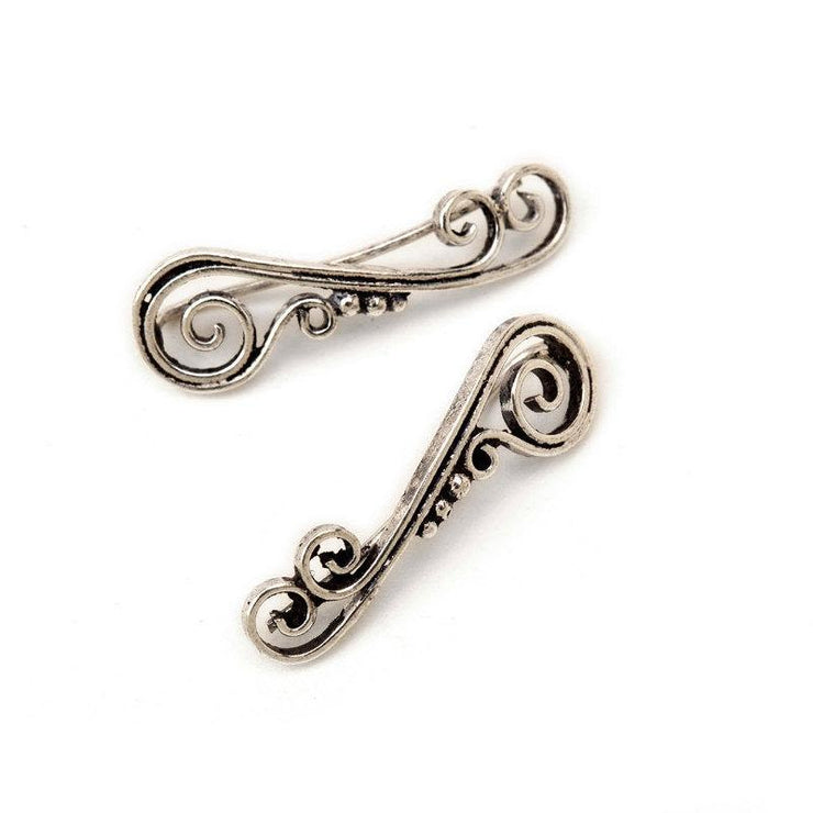Silver Cascade Climbing Studs Foragedesign Jewelry / Earrings Stud