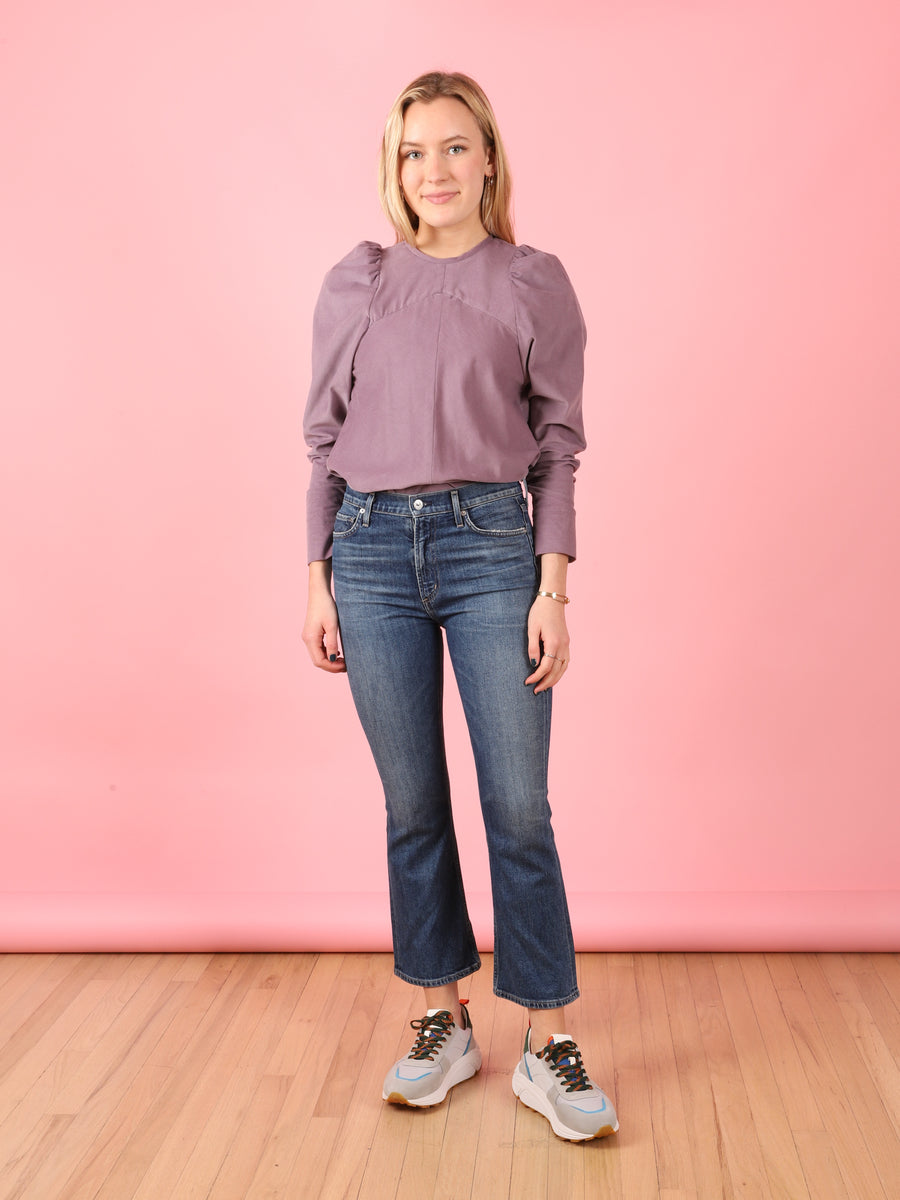 Purple Corduroy Mia Top