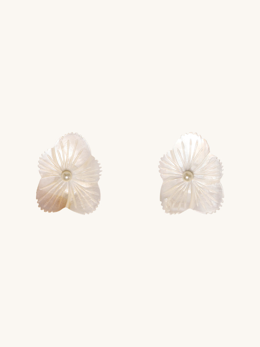 Mother of Pearl Kay Stud Earrings