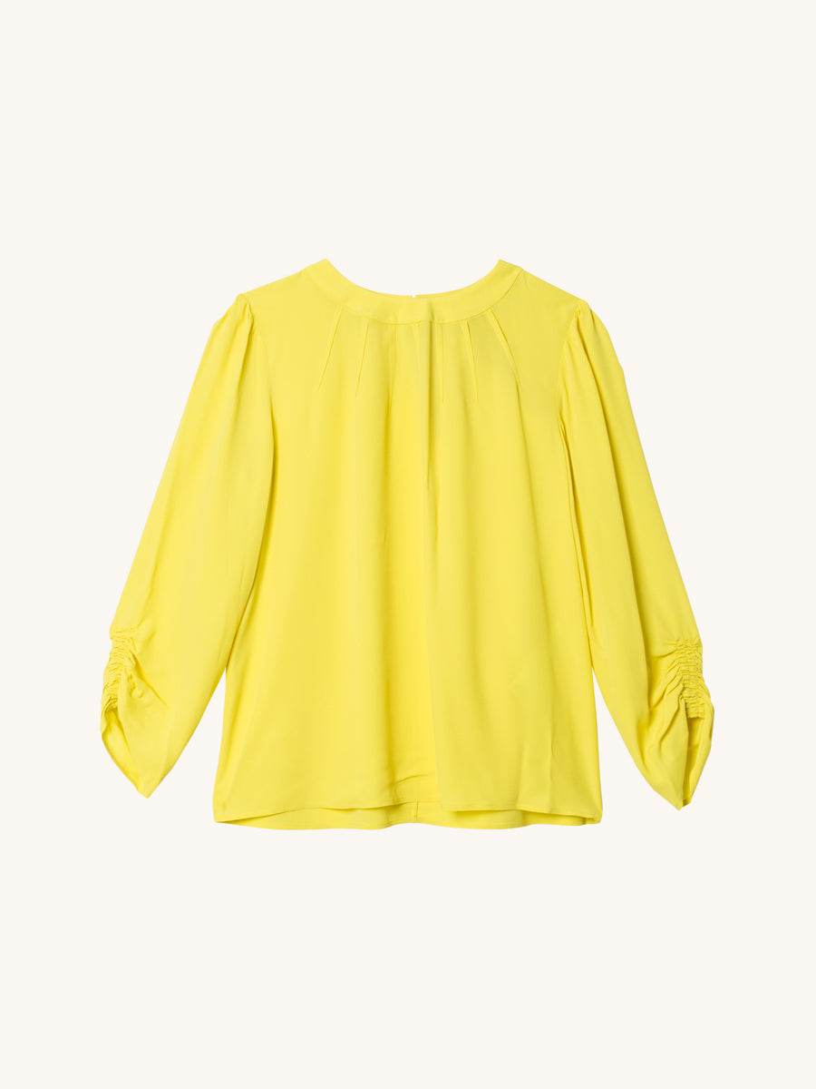 3/4 Sleeve Top in Citron