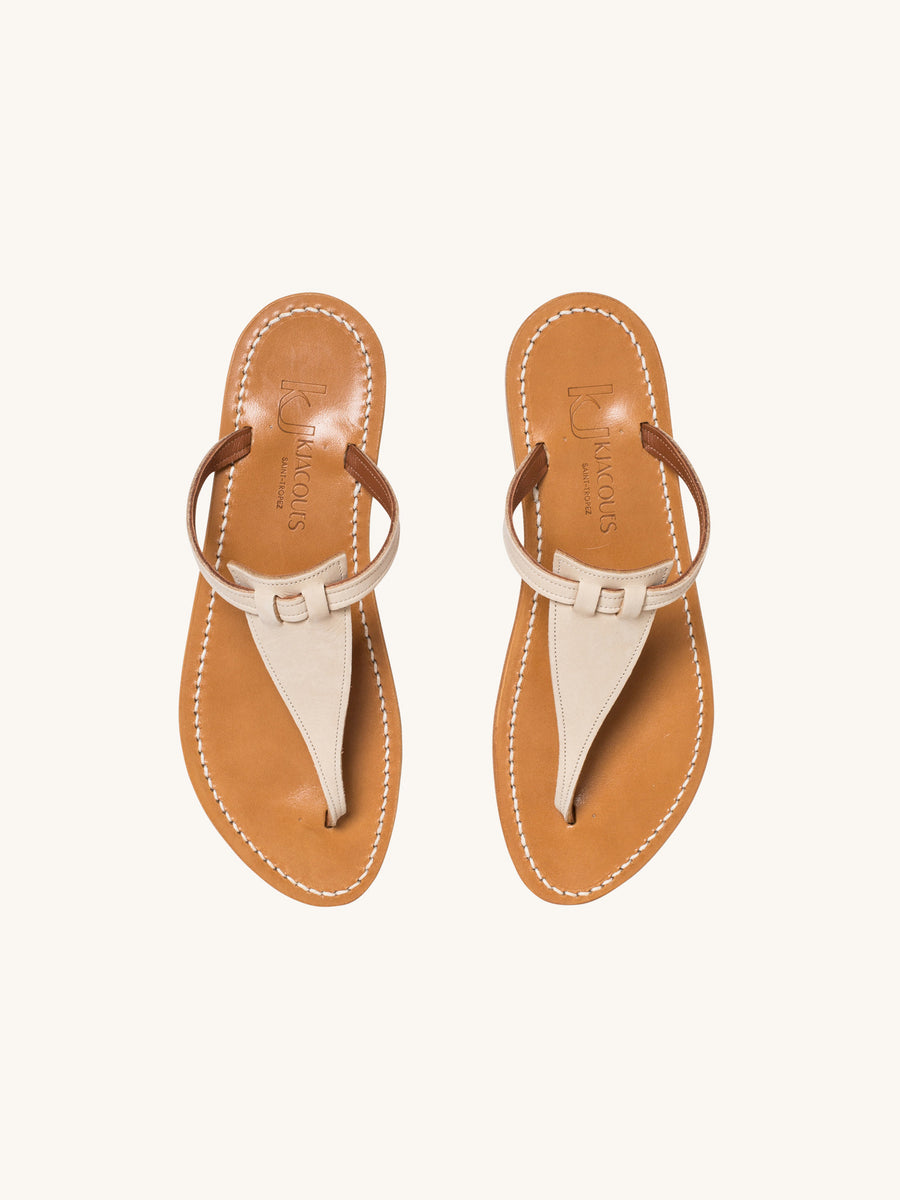 Columbia Sandal in Linen