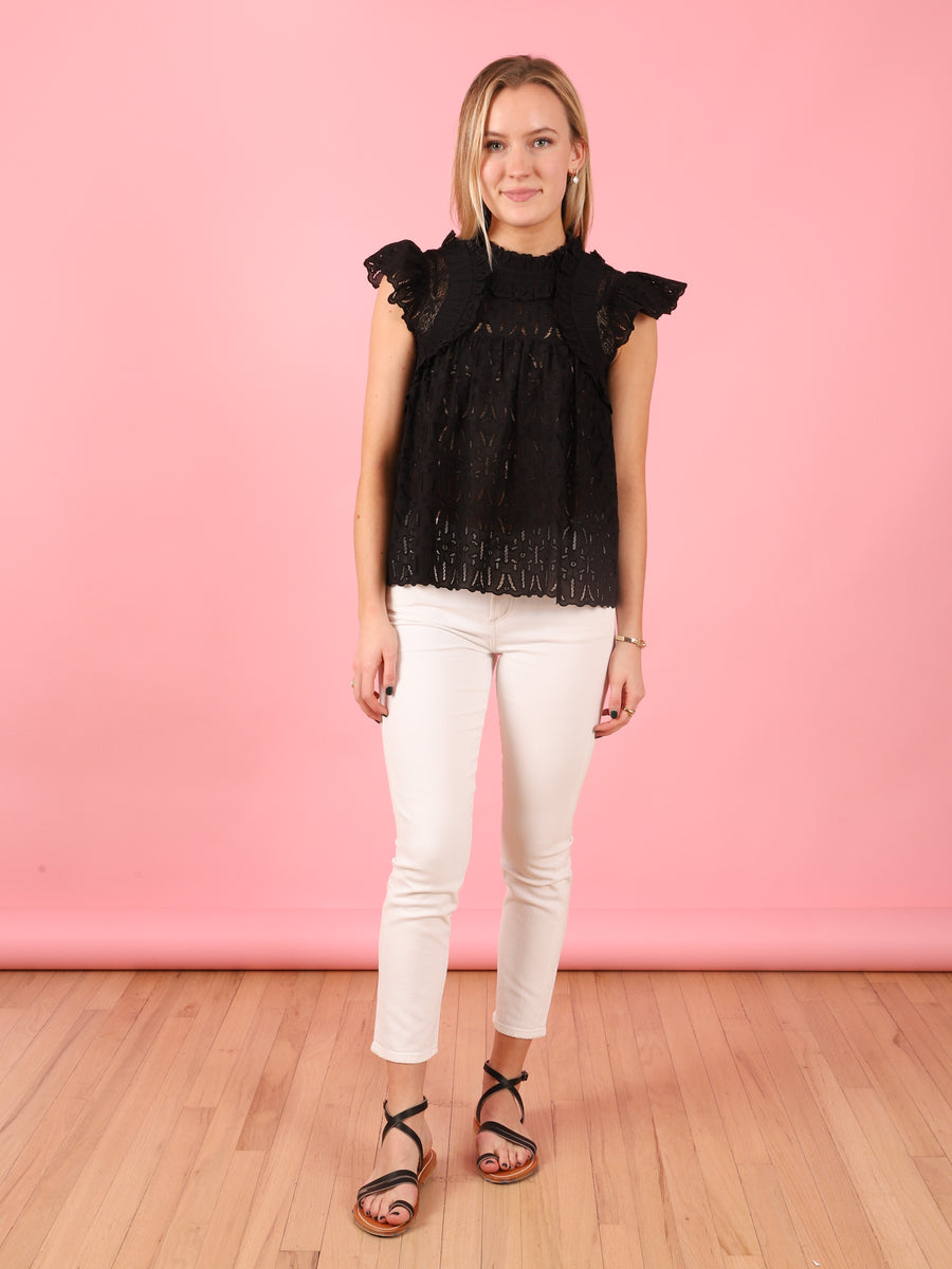 Ingrid Flutter Sleeve Top