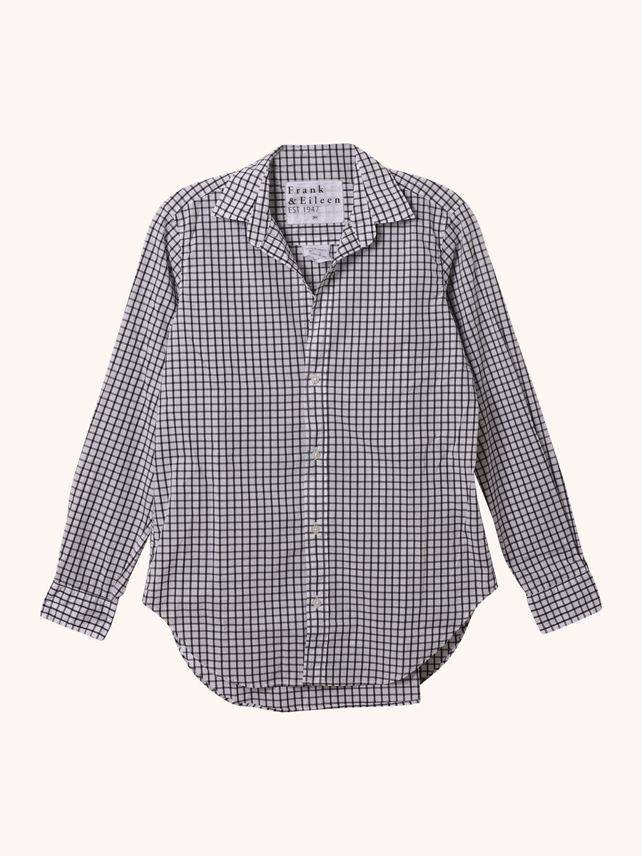 Frank Shirt in Black Grid