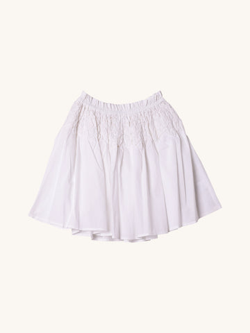 Eden Skirt in White