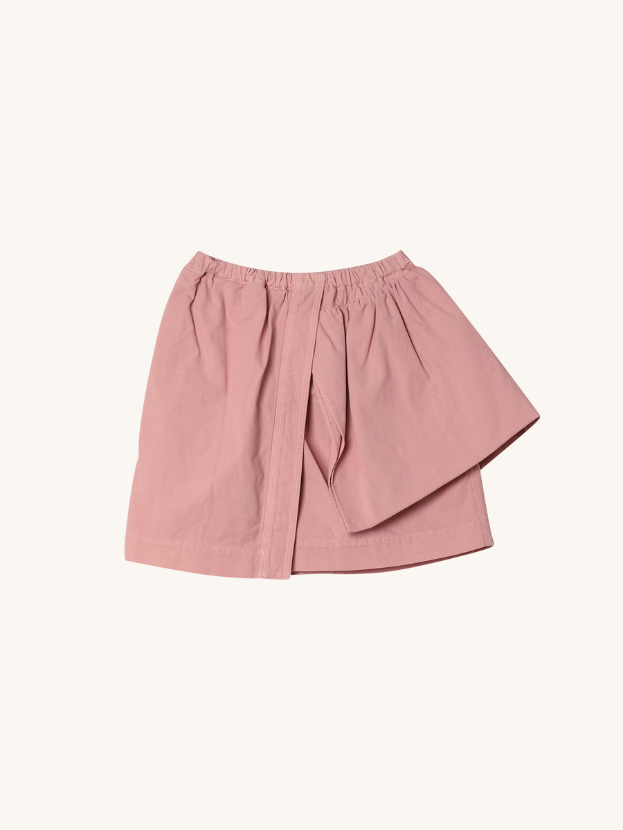 Mini Skirt with Ruffle in Pink