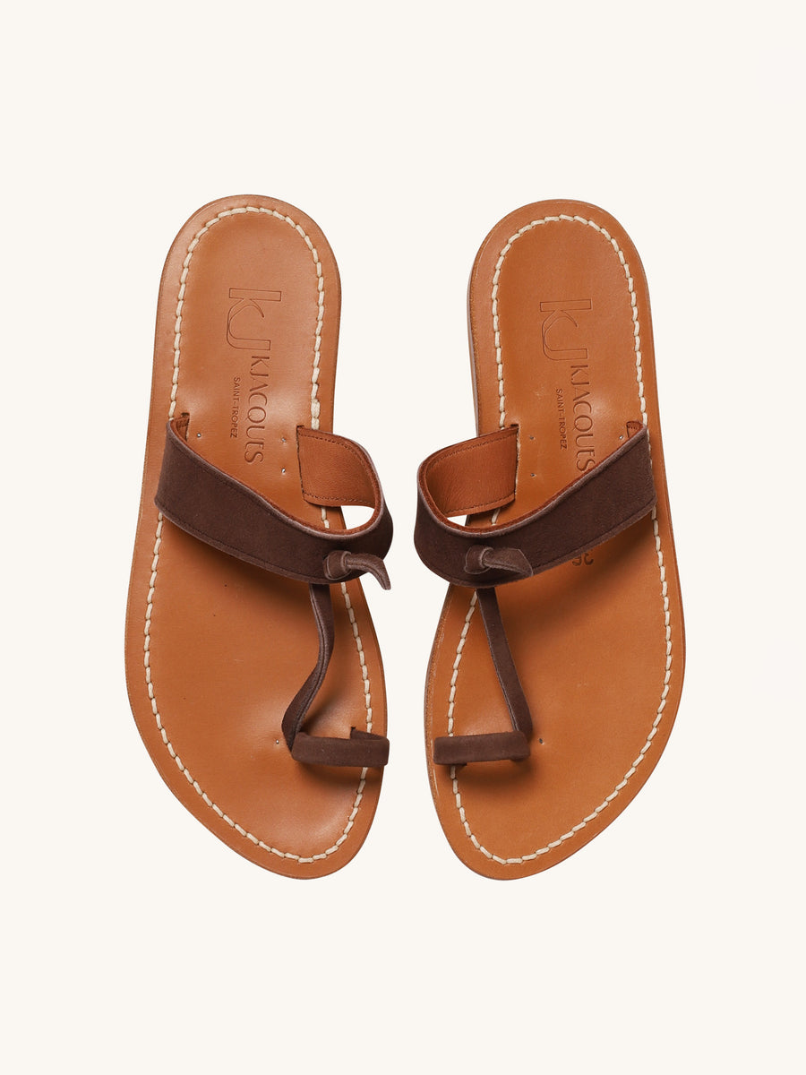 Ganges Sandal in Cocoa
