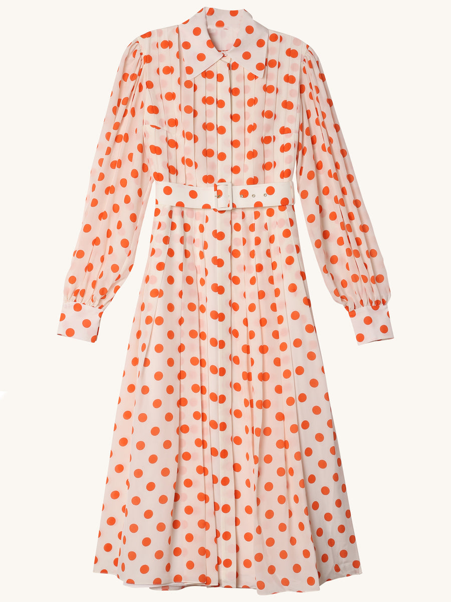 Anatola Polka Dot Dress