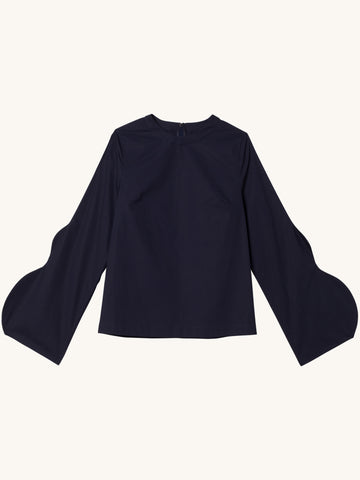 Full Sleeve Blouse in Navy
