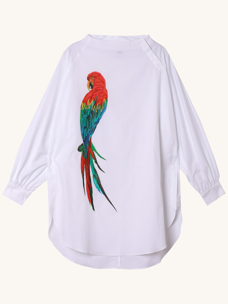Long Sleeve Parrot Top