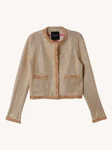 Basket Knit Beach Jacket