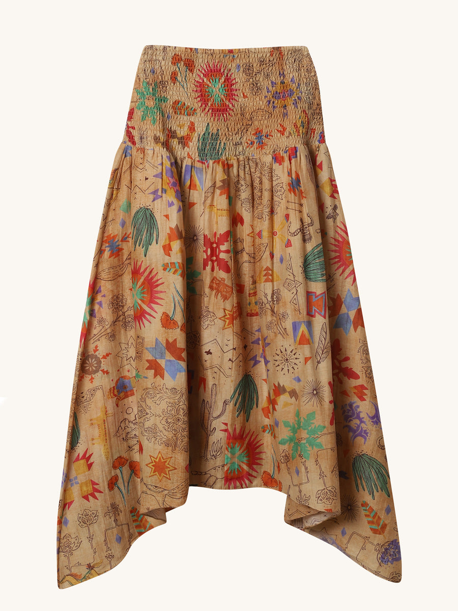 Saqui Long Skirt