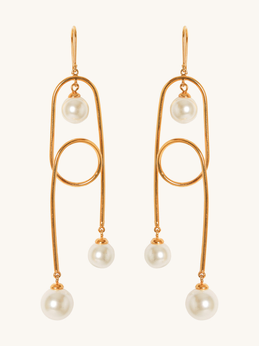 Salma Earrings in Gold
