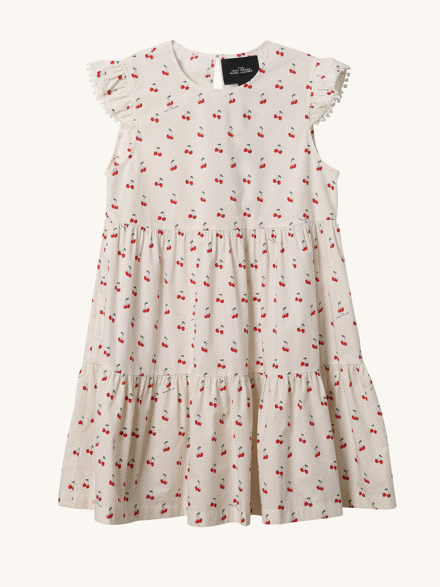 Cherries Cotton Tent Dress