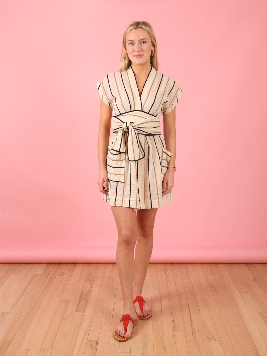 Stripe Aurora Dress