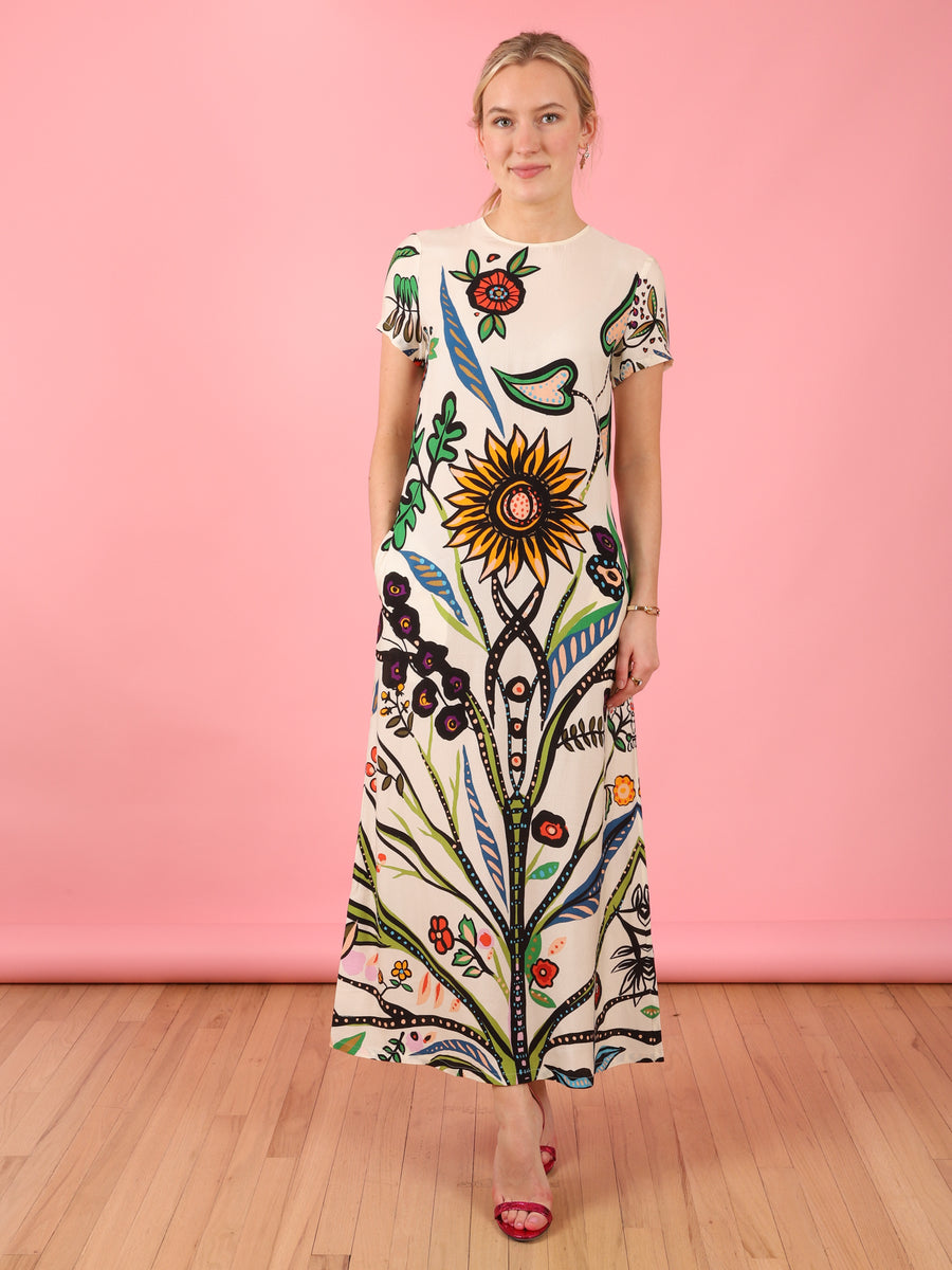 Tree of Life Swing Dress