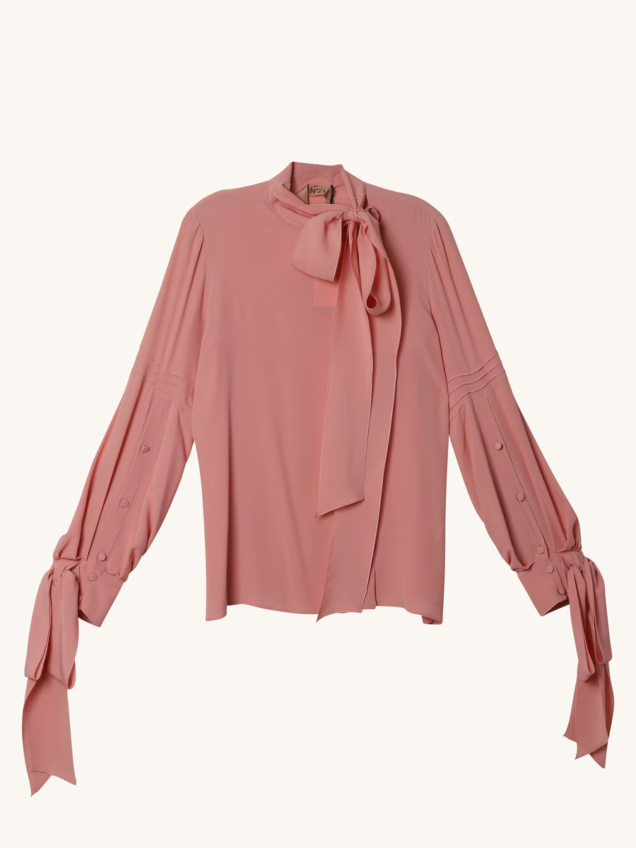 Ruffled Top in Pink