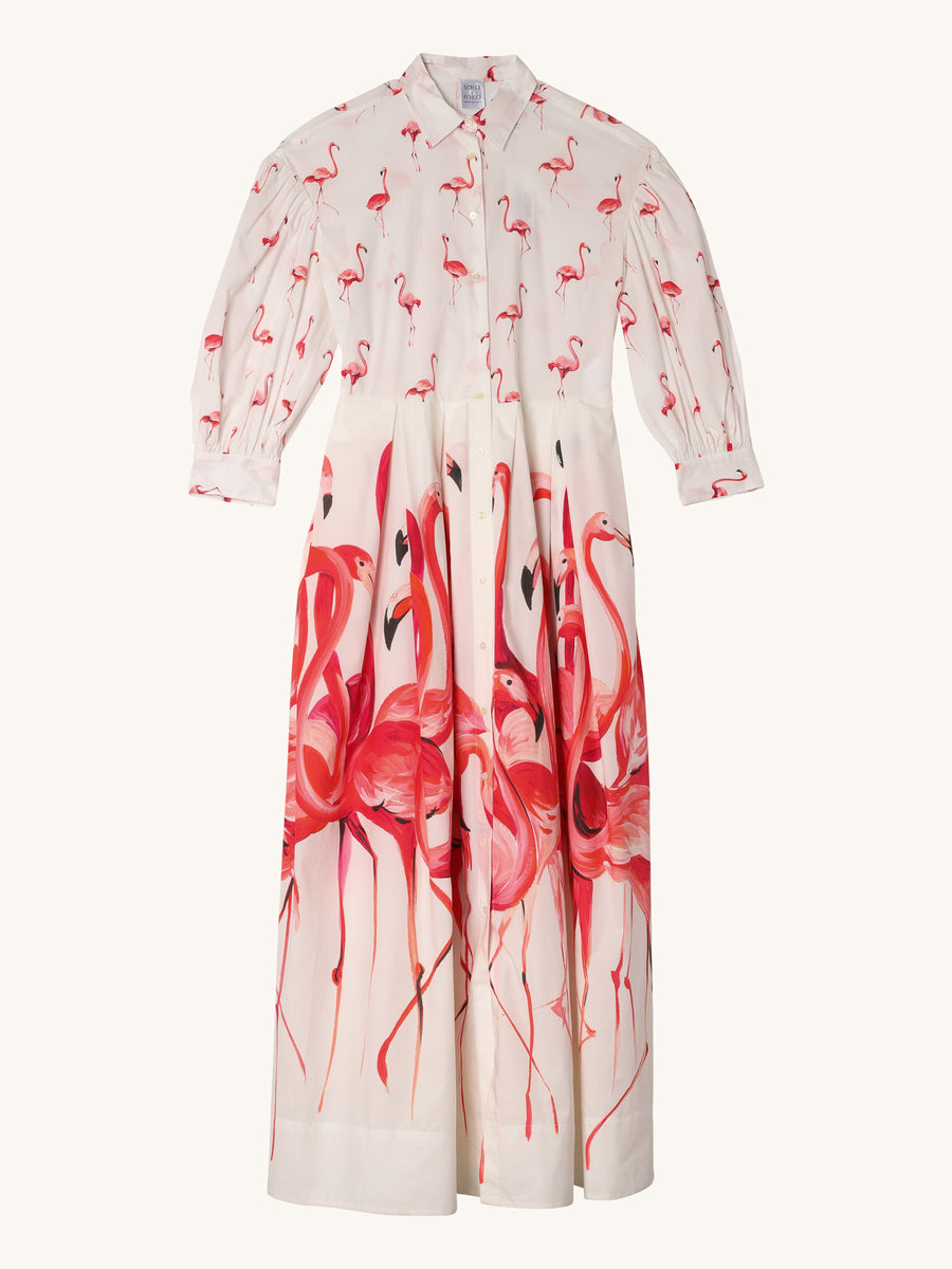 Lissy Flamingo Dress