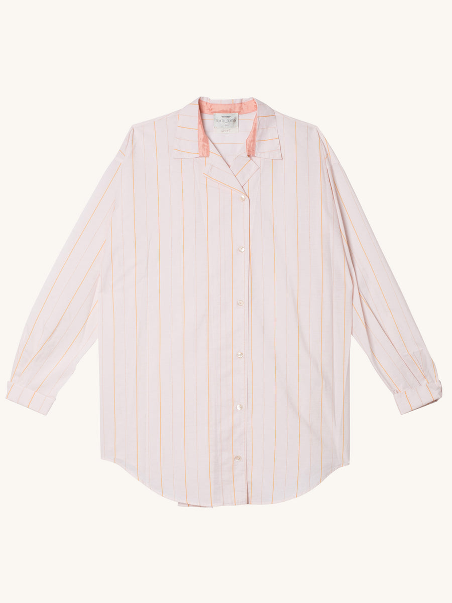 My Shirt Oversized Stripe in Rosa
