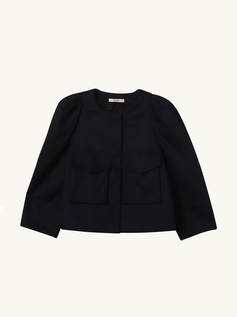 Navy Pocket Blazer