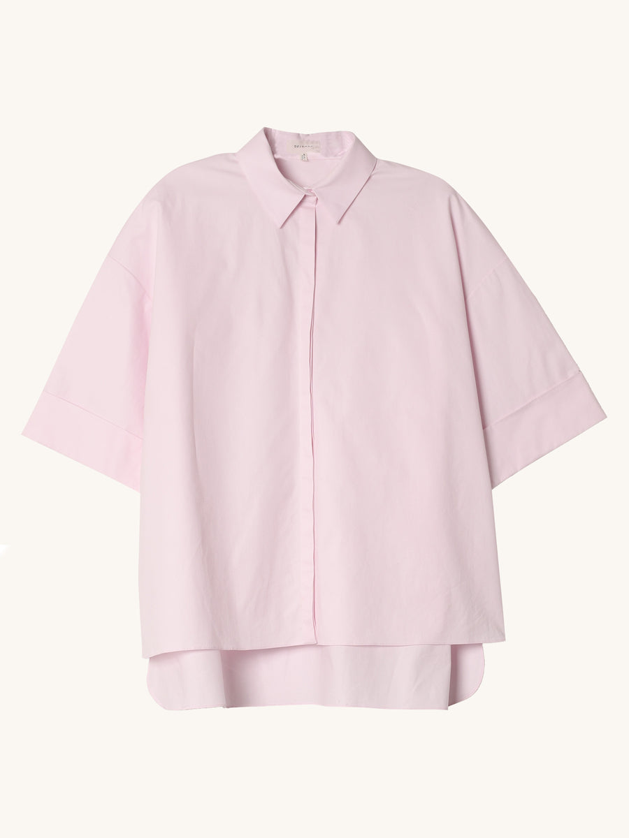 Short Sleeve Shirt in Pink