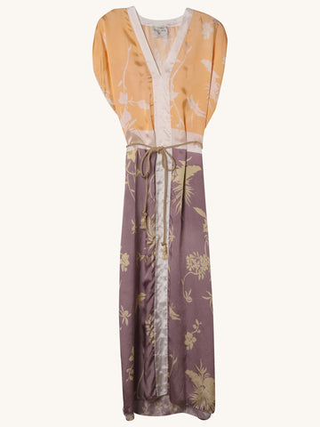 Kaftan Dress in Mauve