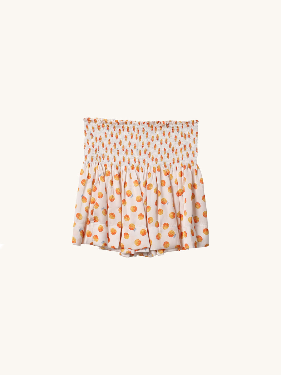 Basketball Print Erica Skirt