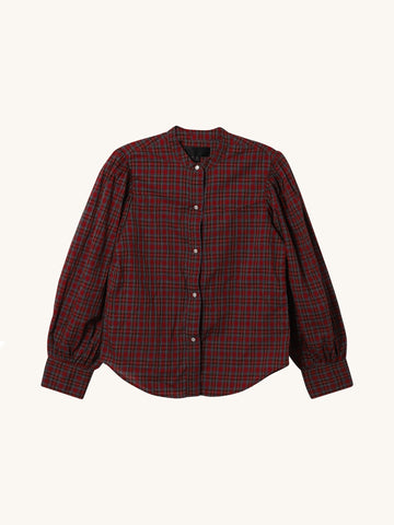 Multi Plaid Maisie Shirt