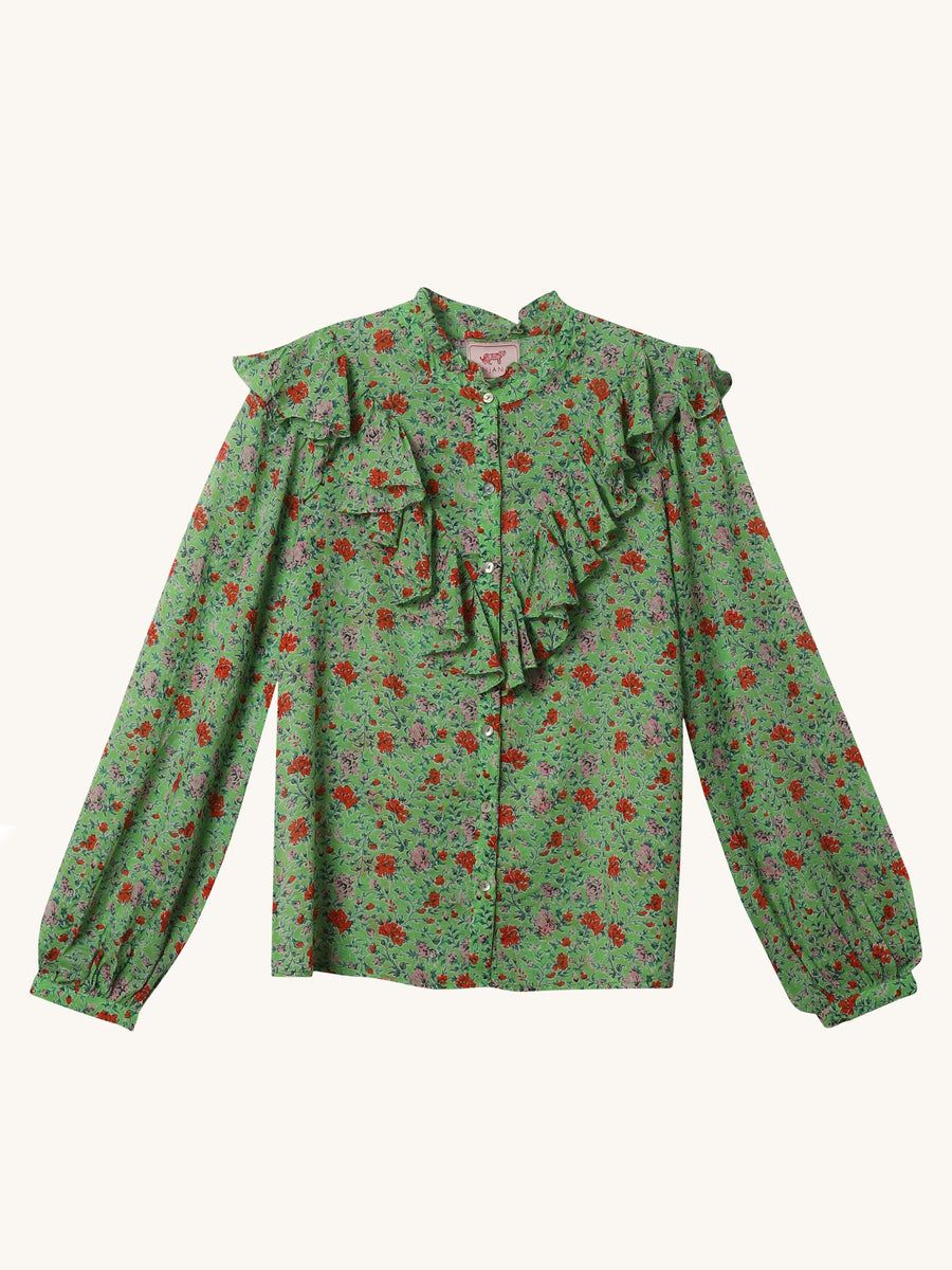 Siesta Nina Shirt in Green