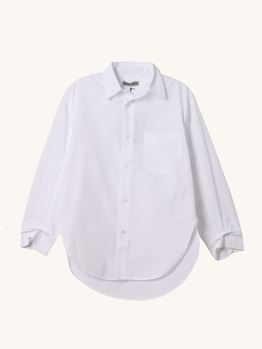 Kayla Shirt in White