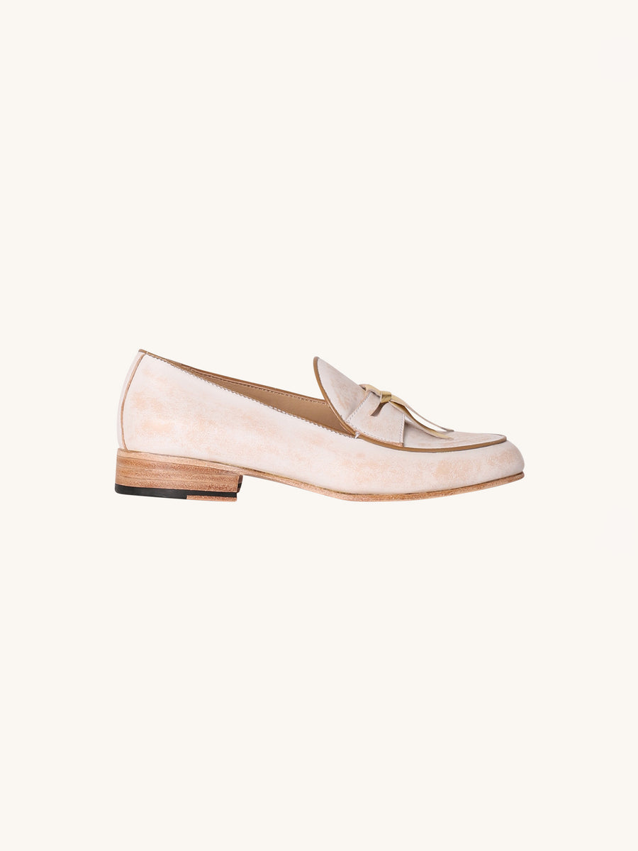 Josie Loafer in White