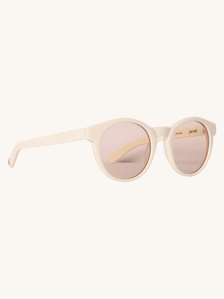 Lime & The Coconut Sunglasses in Ivory