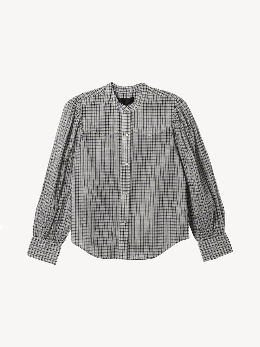 White Check Maisie Shirt