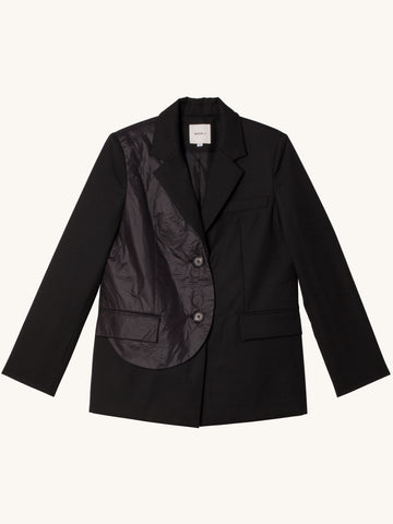 Wool Jacket in Black