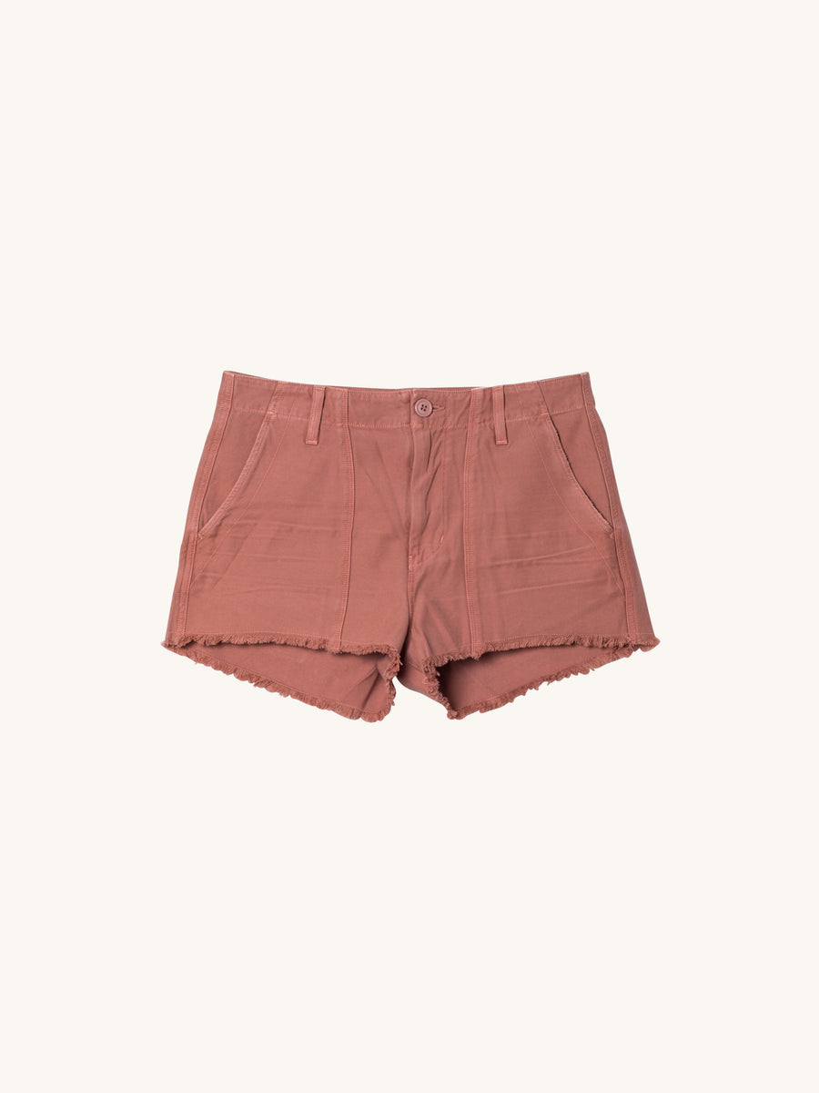 Meghan Surplus Short in Rose Clay