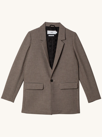 Cox Blazer in Houndstooth